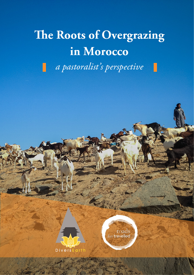 The Roots of Overgrazing in Morocco: A pastoralist's perspective brochure title