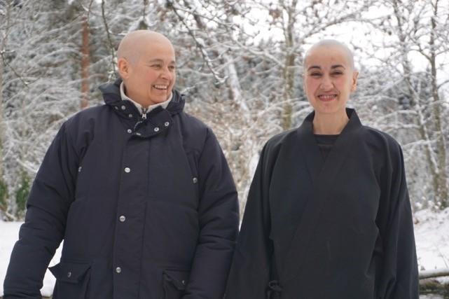 Buddhist retreat centre in the Ardèche: La Démeure Sans Limites